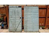 Garden gate & fence panel