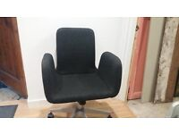 IKEA Patrik Swivel Chair - black and in great condition