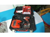 Milwaukee Impact Drive M18 BID with Charge, 3.0 Battery and 33pc Shockwave Bits