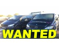 MERCEDES VITO VAN WANTED!!!