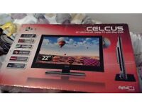 Celcus 22inch LED Full HD 1080p TV with slim DVD