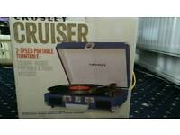 Corsley Cruiser Portable Turntable 3 Speed