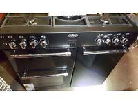 Belling C/Range 90DFT Rangestyle Dual Fuel Cooker EX-Diplay 444443384