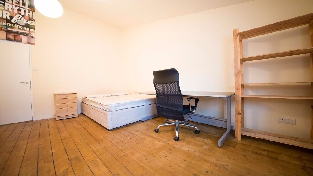 *inc all bills* FURNISHED large double room to rent in Holloway! Furnished, Hornsey, Finsbury Park.
