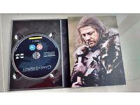 Game Of Thrones Season 1 & 2 DVD Box Set