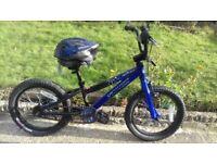 "KIDS BOYS CHILDREN SPECIALIZED HARDROCK 16"" WHEEL AGES 5- 8 BIKE BICYCLE"
