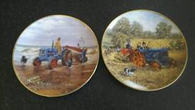 Danbury mint ford tractor plates 8 + 1 repairable one