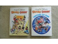 BEANO & DANDY HISTORY OF FUN & FUNSHINE & LAUGHTER - GOOD CONDITION