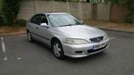 12 Months MOT - 2001 Honda Accord SE (Petrol 5dr Hatchback) ONO