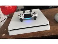 PlayStation 4 slim (500gb, White Limited Edition)