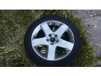 5x108 17 Peugeot Ford Jaguar alloy wheels