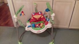 Fisherprice rainforest jumperoo good condition