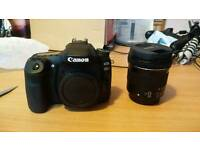 Canon 80D with 10-18mm lens