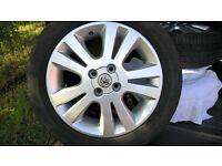 Vauxhall Meriva Alloy Wheels..16 inch 4 stud..very good condition offer around £200