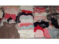 BABY BUNDLE CLOTHES 6-12 MONTHS FOR GIRL