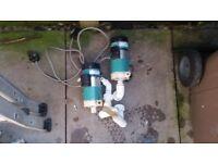 Fish room pumps