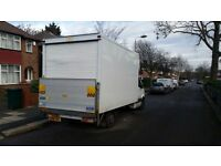 MAN Luton van with tail lift. Highly Professional, Reliable services. Short / Long distances moves.