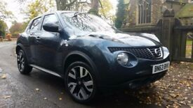 2013 NISSAN JUKE 1.6 N -TEC 32800 MILES ONLY JUST HAD A FULL SERVICE COLOUR SAT NAV,BLUETOOTH