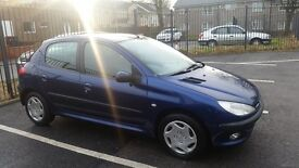 peugeot 206 1.4 style low milage