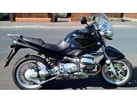 BMW R850R FSH, 14690 miles!!! Rare Bike BARGAIN PRICE! ( Ducati, honda, suzuki, yamaha, kawasaki,