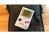 Gameboy grey handheld console