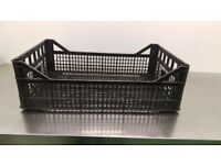 Used Black Crates for Sale (totally we have 570 pieces )