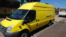 2010 ford transit jumbo 2.4 115bhp spaces or repairs does not run