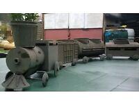 steam train plant pot holder