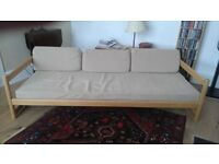 Sofa/Day bed with matching side table