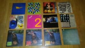 """12 x 7"""" new order joy division electronic singles"""
