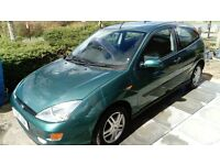 Ford Focus 1.6 3dr Low Mileage, FSH.