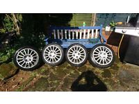 16 inch rondell wheels with tyres. Wheels have. Scuff. Marks can be seen in pictures