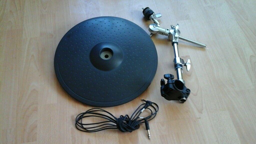 yamaha pcy150s electronic cymbal triple trigger