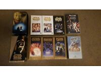 Starwars vhs tapes ×8