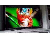 SAMSUNG UE55JU6800 LED 4K UHD NANO CRYSTAL SMART TV Boxed 1 month old 11 Month Warranty left MINT!