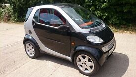Smart, 2000, LHD (left hand drive), low mileage 47k, automatic, cheap to run, can swap for 4x4