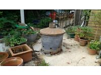 INCINERATOR for garden