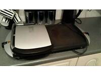 George forman grilling machine and combined hot plate used but full working order condition..