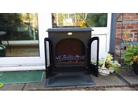 Dimplex Sherborne Optiflame Electric Fire SHB20 in good working condition