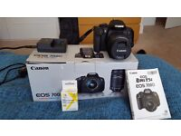 Canon EOS 700D (Rebel T5i) - Perfect Condition