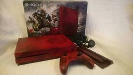 Xbox one S - limited edition 2tb Gears of War