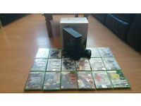 Xbox 360 4gb with wireless controller and games