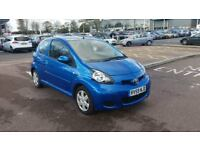 2009 TOYOTA AYGO 1.0 VVT-I, 5 SEATS, MANUAL, BLUE, GENUINE MILEAGE , 10 SERVICES TOYOTA,MOT &TAX,