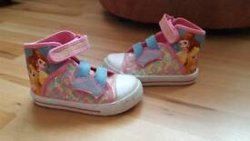 Toddler girl size 8 shoes/boots/trainers/wellies bundle