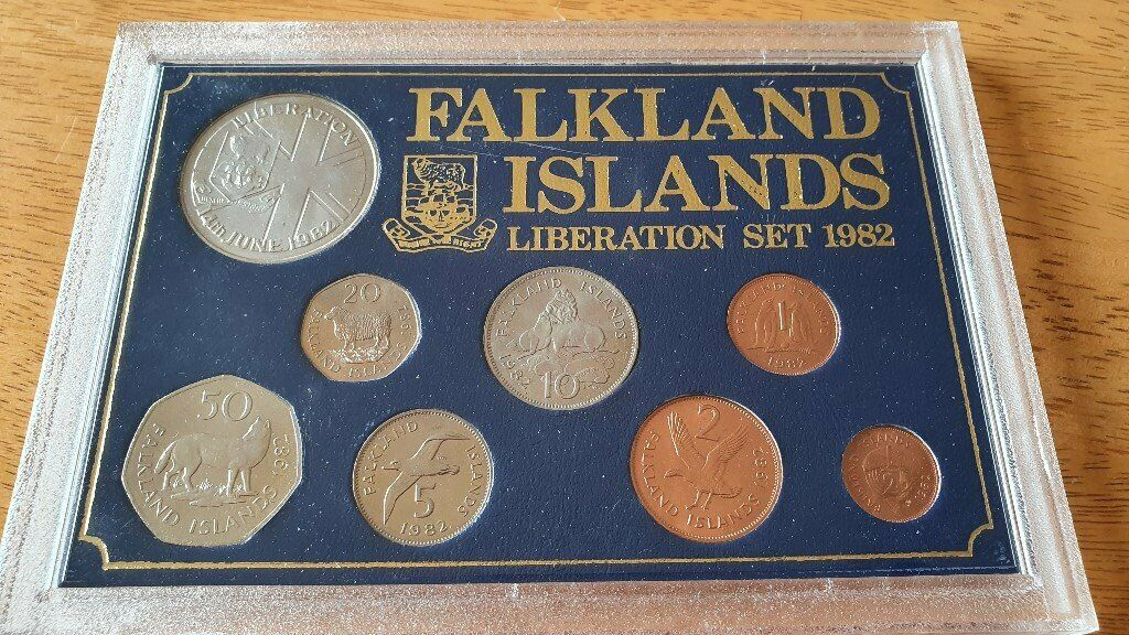 falkland islands post office coins