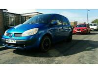 Renault scenic 04 plate 11mths mths mot 350 if gone today, 22/09, dont miss out