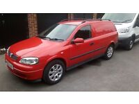 Astra van cleanest around only 97000 miles