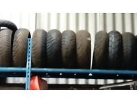 USED MOTORBIKE TYRES FOR SALE £10 EACH