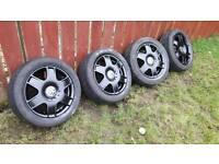 """Black VW Bora sport alloys 16"""""""