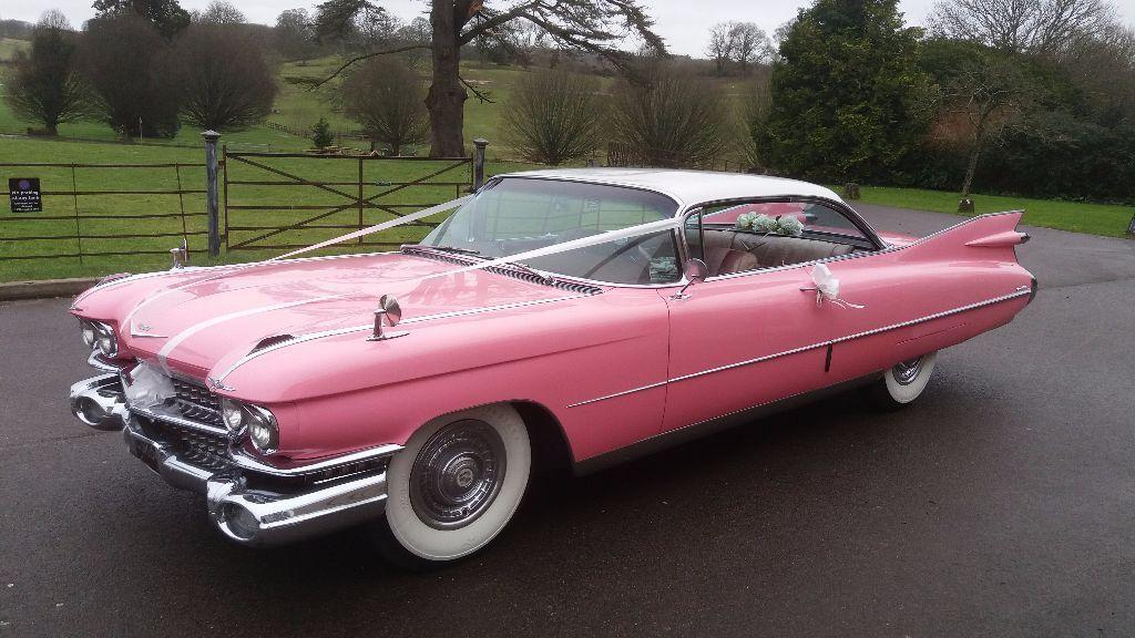 Wedding Car Hire Clic 1959 Cadillac Coupe Elvis 50s Rock N Roll B Day Civil